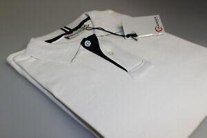 Job Lot 10 Phoenix Golf Interlock Polo Shirts 100% Cotton Plain White M + L New