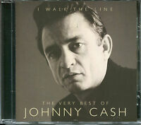 THE VERY BEST OF JOHNNY CASH I WALK THE LINE CD - GET RHYTHM, BIG RIVER & MORE