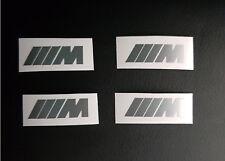 4 M Aufkleber Bremssattel BMW M Power Sticker Bremse e87 e60 e90 f11 GT NEU TOP