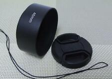 46 mm Metal Camera Lens Hood + 58mm Cap for Standard Lens 46SC58