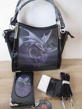 Anne Stokes - 3D Design Handbag & Purse - DRAGON BEAUTY  FREE Tissue Cover