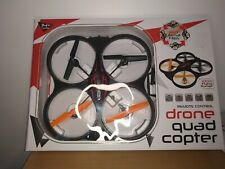 Remote Control Drone Quad Copter. 360 Flips. 100m Flying Range, ex condition