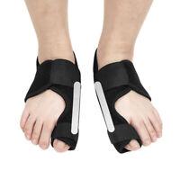 1 Pair Big Toe Foot Splint Corrector Bunion Straightener Hallux Valgus Unisex US