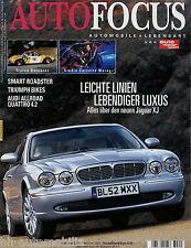 Auto Focus 3 03 2003 Jaguar XJ Smart Roadster Audi Allroad 4,2 Corvette Moray