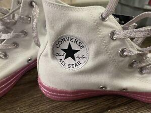 Converse x Miley Cyrus Chuck Taylor ALL STAR Hi Top Shoes US Wmns 8/men's 6 New!