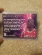 Michael Jordan 1993-94 Fleer Ultra Lightning Scoring Kings