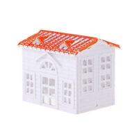 Small House Villa Model DIY for Building Park Sand Table Model Accessories