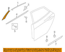 HYUNDAI OEM 12-14 Azera Exterior-Rear-Applique Window Trim Right 832603V000GU