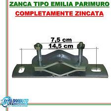 ZANCA PER ANTENNA O PARABOLA TIPO EMILIA PARI MURO ZINCATA STAFFA PER ANTENNE