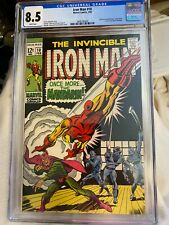 1969 Marvel Comics Iron Man #10 CGC graded 8.5