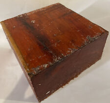 Chakte Viga Paela Hardwood Bowl Blank 6x6x3 Woodturning Lumber For Woodworking