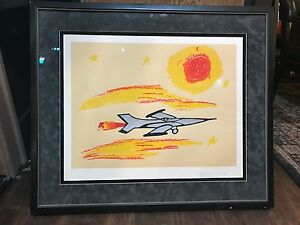 Muhammad Ali Serigraph Under The Sun Signed Nicely Framed autographed