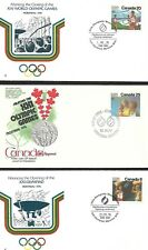 CANADA FIRST DAY COVER, 3 FIRST DAY COVERS