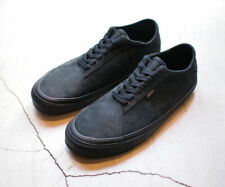 Vans Diamo Ni (Blackout) in black leather - UK 7.5 (Eur 41, 26.5cm) RRP £65