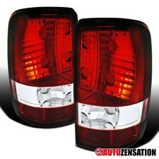 For 2000-2006 Chevy Suburban Tahoe GMC Yukon Denali XL Red Tail Lights Lamps