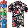 Mens Hawaiian Shirt Dress Summer Aloha Fancy Dress Stag Beach Shirts Hawaii Fun