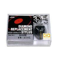 Jico Hyper Elliptical Stylus Vn-35-he for Shure V15/III Japan new .