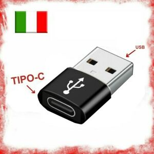 Adattatore Adapter da USB A maschio a Tipo C Type C femmina usb 3.1 otg