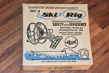 Nos Vintage Waskitoli Reel Co. Water Ski Rig Towline Release Retriever Reel Cool