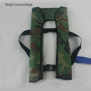 UK Adult Manual/Automatic Inflatable Life Jacket Inflation150N PFD Survival Vest