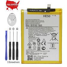 For Motorola Moto E5 Plus XT1924 4850mAh HE50 Battery Replacement SNN5989A NEW