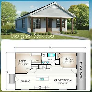 House Home Plan, 960 Sq Ft