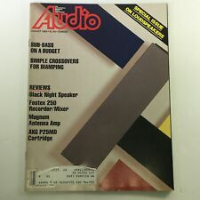 VTG Audio and Music Magazine August 1982 - Black Night Speakers Review