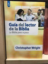 Guia Del Lector De La Biblia Christopher Wrigth