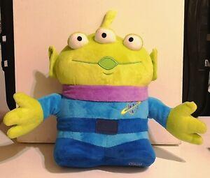 "Cuddly Brand New Large Soft Toy. Walt Disney Toy Story. Large 3 Eyed Alien. 12"""