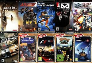 A variety of  games for PSP Playstation new