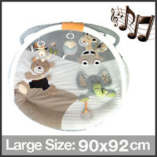New MiniDream Round Baby Playmat Play Gym Play Mat Musical Activity Centre