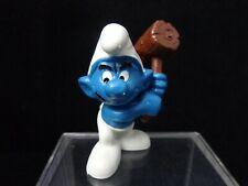 Mallet Smurf Wood Sledge Hammer Vintage Figure Toy Schleich Peyo