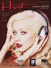 Hurt Song by Christina Aguilera Piano Sheet Music Guitar Chords Vocal Lyrics NEW