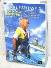 FINAL FANTASY X 10 Scenario Ultimania Guide PS2 Book DC08*
