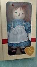 Dakin 85th Birthday Raggedy Ann Doll MIB Certificate commemorative
