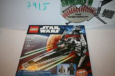RETIRED LEGO Star Wars 7915 Imperial V Wing Starfighter New NIB R2 D2 139 pieces