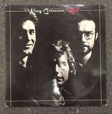 King Crimson Red LP Vinyl 1974 UK Import Island ILPS 9308 Rock Prog Rock