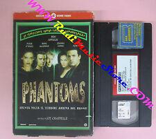 VHS film PHANTOMS Rose Mcgowan Ben Affleck CECCHI GORI PRC1175 (F152) no dvd