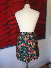 High waisted Floral Shorts Size 14
