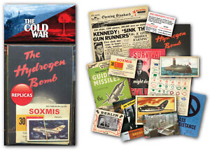 THE COLD WAR Memorabilia Gift Pack with over 20 pieces of Replica Artwork