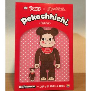 Bearbrick BE@RBRICK Peko Chan Monchhichi Pekochhichi 400% 100% Fujiya Medicom