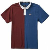 PRIMITIVE Men's Polo Shirt NINETY FOUR - Burgundy - Medium  - NWT  LAST ONE LEFT