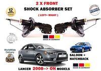 pour Mitsubishi Lancer 2008- > avant gauche + DROIT Amortisseurs (18 ROUES
