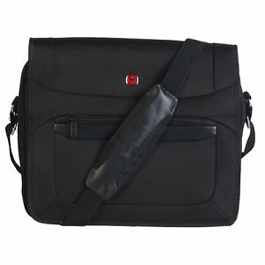 Wenger W73012292 Luxury Business Laptop Messenger Bag | 16 Inches | Padded