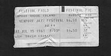Original 1969 Newport Jazz Festival Concert Ticket Stub Miles Davis Sly Stone