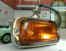 Custom Kit Classic Car Stainless Steel Chrome & Glass Period Indicator Light