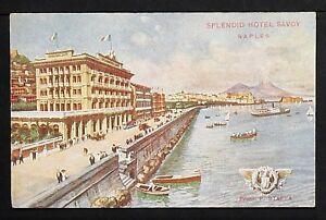 ITALY 895-NAPOLI -Splendid Hotel Savoy