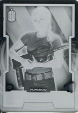 Doctor Who 2015 Printing Plate Base Card #165 Jenny (Black)