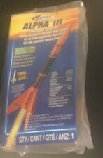 NEW ESTES ALPHA III Flying Model Rocket Kit E2X NEW NIP