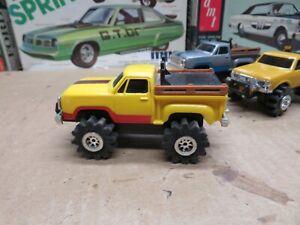 Original 1980's Schaper Yellow Dodge Ram 4X4 Pickup Stomper  CLEAN